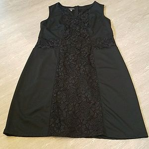Black with lace dress!